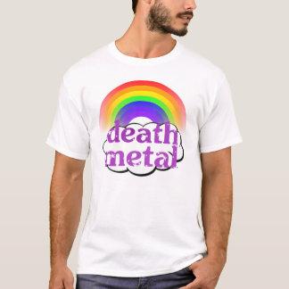 Niedliches Todesmetallregenbogen-Shirt T-Shirt