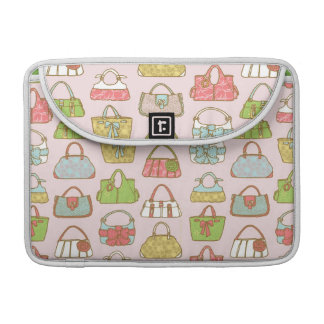 Niedliches und buntes Taschen-Illustrations-Muster Sleeve Für MacBook Pro