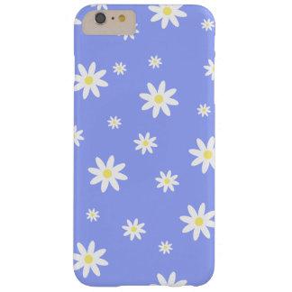 Niedliches und girly Pastellmuster des blauen und Barely There iPhone 6 Plus Hülle