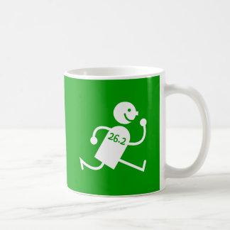 Niedliches und lustiges Marathon Kaffeetasse