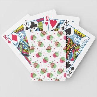 Niedliches und süßes Weihnachten farbige kleine Bicycle Spielkarten