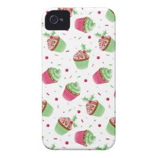 Niedliches und süßes Weihnachten farbige kleine iPhone 4 Hülle