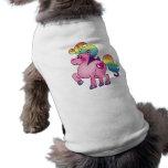 niedliches Unicornpony Hundbekleidung