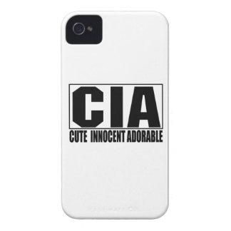 Niedliches unschuldiges entzückendes iPhone 4 cover