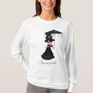 Niedliches viktorianisches Steampunk Goth Mädchen T-Shirt