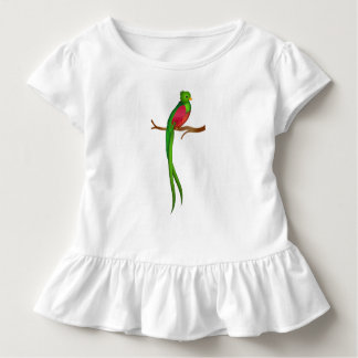Niedliches Vogel Quetzal Kleinkind T-shirt