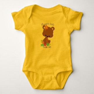 Niedliches Waldbärenjunges Baby Strampler