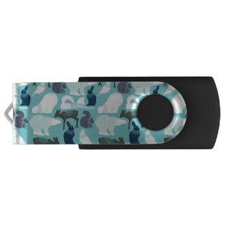 Niedliches Waldtier-Muster USB Stick