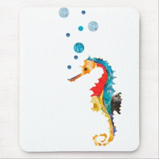 Niedliches Watercolor SEEpferdeSeepferd Ozean-Tier Mousepad