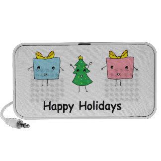 Niedliches Weihnachten Mini Lautsprecher