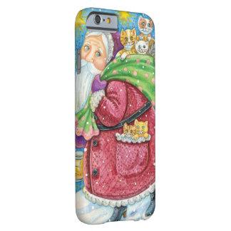 Niedliches Weihnachten, Weihnachtsmann mit Barely There iPhone 6 Hülle