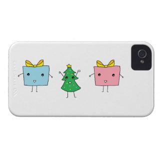 Niedliches WeihnachtsBlackBerry-mutiger Kasten iPhone 4 Etuis