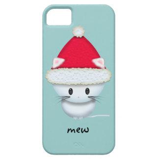 Niedliches weißes Kätzchen in der iPhone 5 Schutzhülle