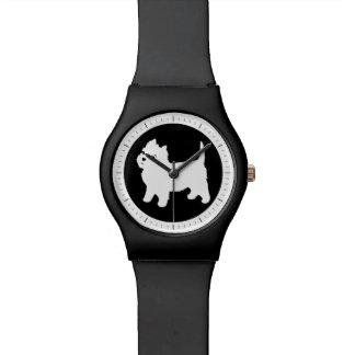 Niedliches Westie - Westhochland-weißer Terrier Armbanduhr