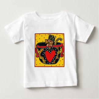 Niedliches Yorkie Poo Baby T-shirt