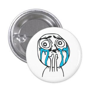 Niedlichkeits-Überlastungs-niedliches Raserei-Gesi Runder Button 3,2 Cm