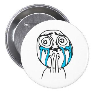 Niedlichkeits-Überlastungs-niedliches Runder Button 7,6 Cm