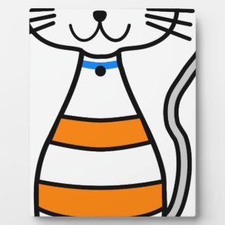 Niedlichste Katze Fotoplatte