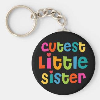 Niedlichste kleine Schwester Schlüsselanhänger
