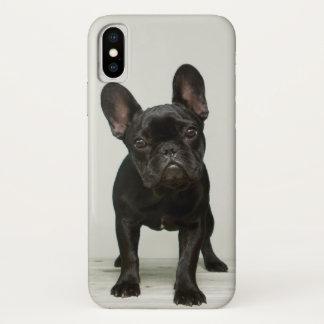 Niedlichster französische Bulldoggen-Welpe iPhone X Hülle