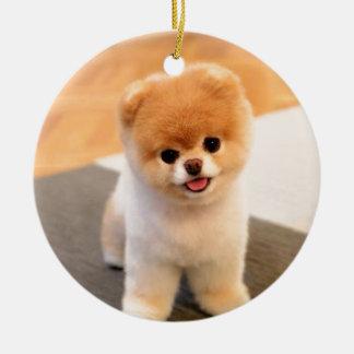 Niedlichster Hund in der Welt Keramik Ornament