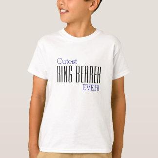 Niedlichster Ring-Träger-ÜBERHAUPT T - Shirt