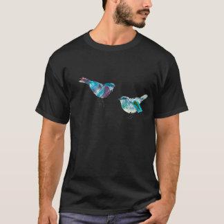 Niedlichster Twitter-Blau-Vogel T-Shirt