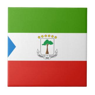 Niedrige Kosten! Äquatoriale Guinea-Flagge Fliese