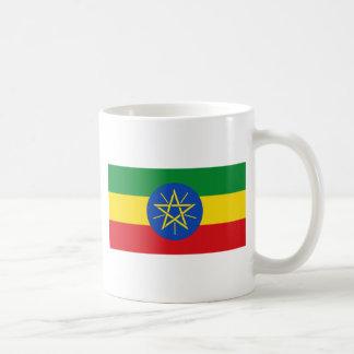 Niedrige Kosten! Äthiopien-Flagge Kaffeetasse