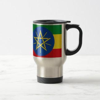 Niedrige Kosten! Äthiopien-Flagge Reisebecher