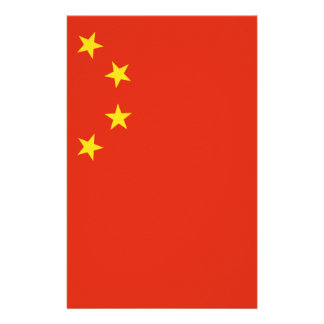 Niedrige Kosten! China-Flagge Briefpapier