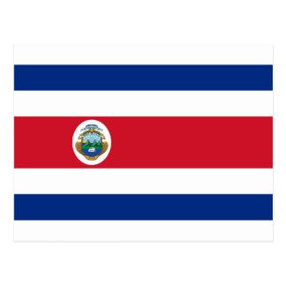 Niedrige Kosten! Costa Rica-Flagge Postkarte