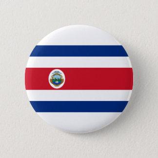 Niedrige Kosten! Costa Rica-Flagge Runder Button 5,7 Cm