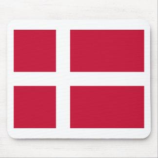 Niedrige Kosten! Dänemark-Flagge Mauspads