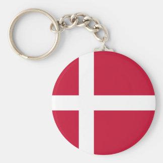 Niedrige Kosten! Dänemark-Flagge Schlüsselanhänger