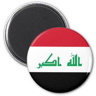 Niedrige Kosten! Der Irak-Flagge Runder Magnet 5,1 Cm