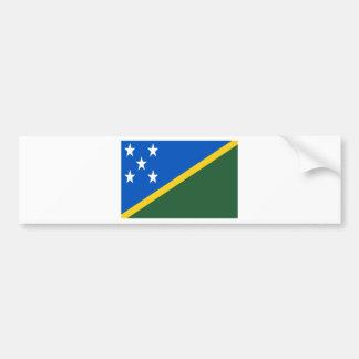 Niedrige Kosten! Die Salomonen-Flagge Autoaufkleber