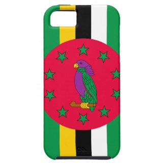 Niedrige Kosten! Dominica-Flagge Tough iPhone 5 Hülle