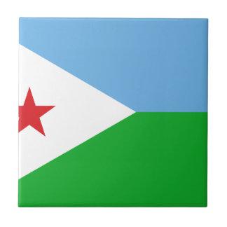Niedrige Kosten! Dschibuti-Flagge Fliese