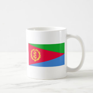 Niedrige Kosten! Eritrea-Flagge Kaffeetasse