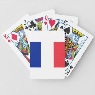 Niedrige Kosten! Frankreich-Flagge Bicycle Spielkarten