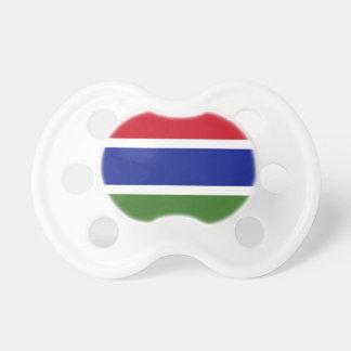 Niedrige Kosten! Gambia-Flagge Schnuller