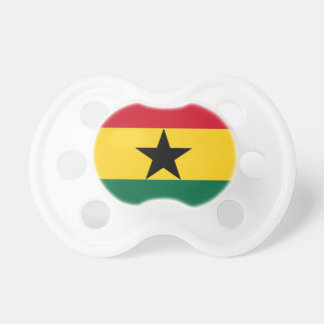 Niedrige Kosten! Ghana-Flagge Schnuller