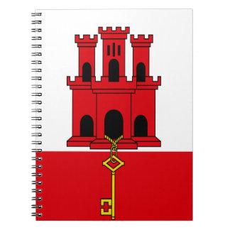 Niedrige Kosten! Gibraltar-Flagge Notizblock