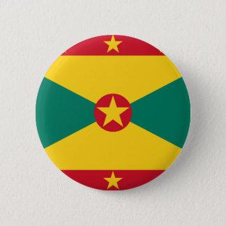 Niedrige Kosten! Grenada-Flagge Runder Button 5,1 Cm
