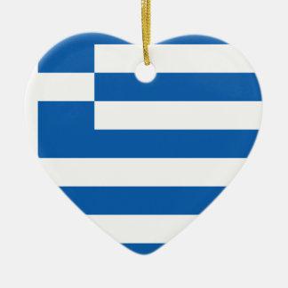 Niedrige Kosten! Griechenland-Flagge Keramik Ornament