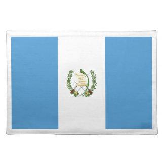 Niedrige Kosten! Guatemala-Flagge Tischset