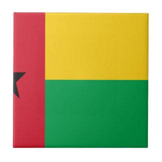 Niedrige Kosten! Guinea-Bissau Flagge Fliese