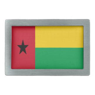 Niedrige Kosten! Guinea-Bissau Flagge Rechteckige Gürtelschnalle