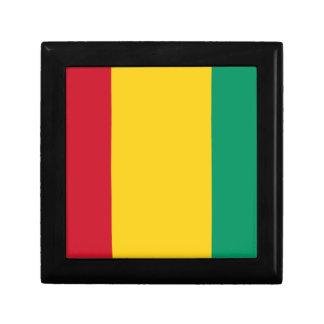 Niedrige Kosten! Guinea-Flagge Erinnerungskiste